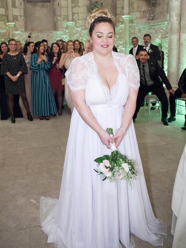 Robe de mariée Bohème Chic Ceremony Day